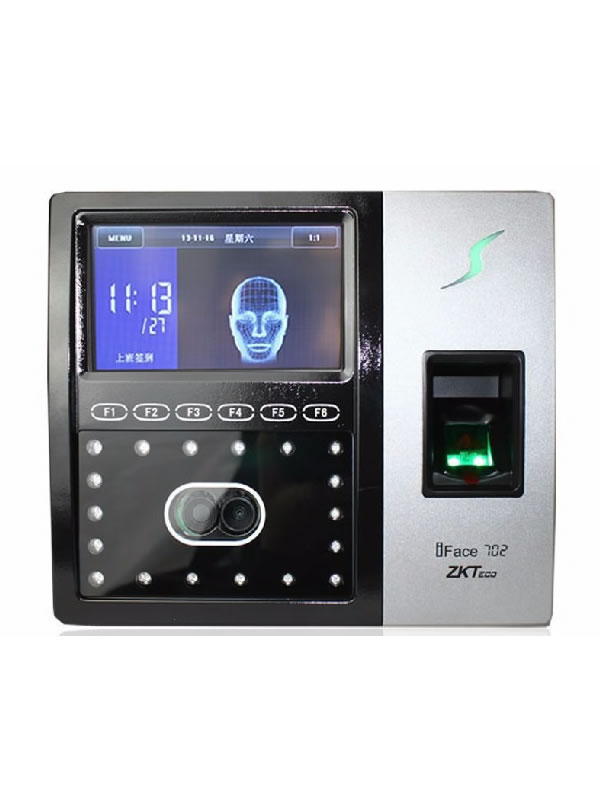 ZKTECO IFace 702 - Face And Fingerprint Biometric Reader | Dechtech Online Store Kenya